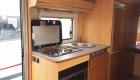 sunlight 6 berth campervan interior cooking area