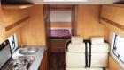 sunlight 6 berth campervan interior