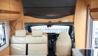 sunlight 6 berth campervan interior seating and bunk
