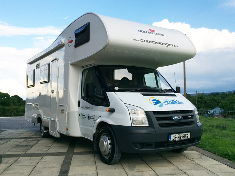 Brilliant Motorhome Hire Ireland