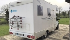 Rimor 6 Berth campervan exterior back and side